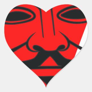 Anon Heart Sticker