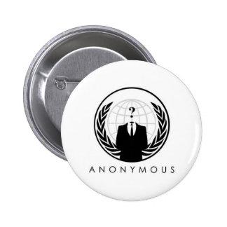 anon-logo pinback buttons