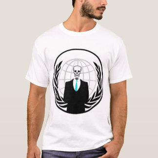 Anon logo with skull head T-Shirt