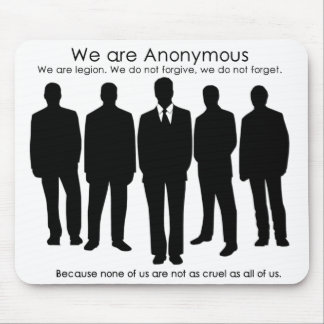 Anon Mousepad