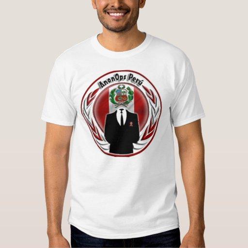 Anon ops Peru T-Shirt