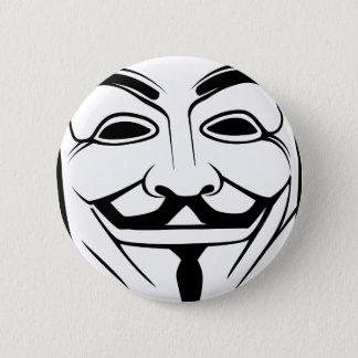 Anon Pinback Button