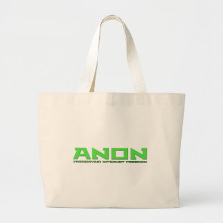 Anon preservar la libertad del Internet Bolsas De Mano