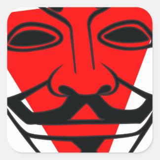 Anon Square Sticker