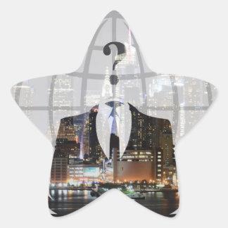 Anon Star Sticker