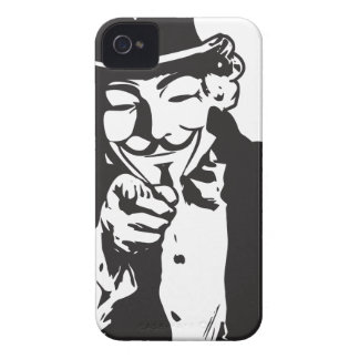 Anon Wants You iPhone 4 Covers