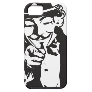 Anon Wants You iPhone 5 Cases