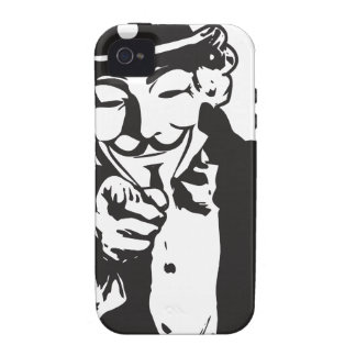 Anon Wants You Case-Mate iPhone 4 Cases
