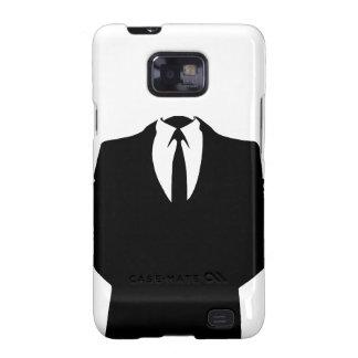 Anónimo - caja de la galaxia S de Samsung Samsung Galaxy S2 Carcasas