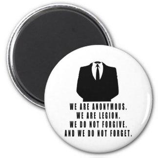 Anónimo Imán Redondo 5 Cm