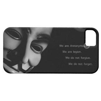 ANÓNIMO iPhone 5 FUNDAS