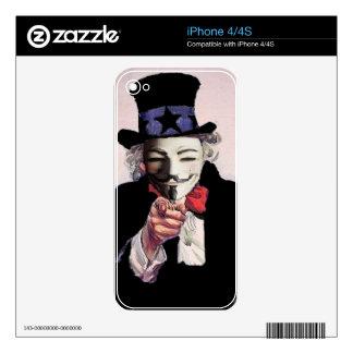 Anónimo le quiere calcomanía para iPhone 4S