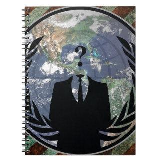 Anónimo Libreta Espiral