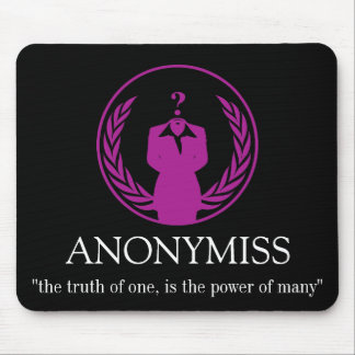 ANONYMISS MOUSE PAD