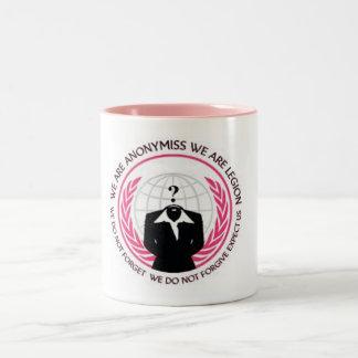 Anonymiss Two-Tone Coffee Mug