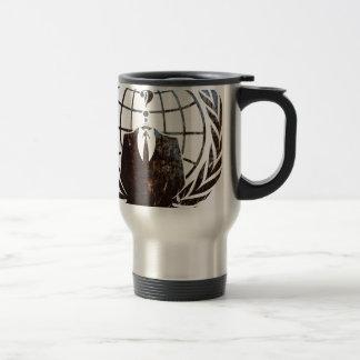 Anonymous 15 Oz Stainless Steel Travel Mug