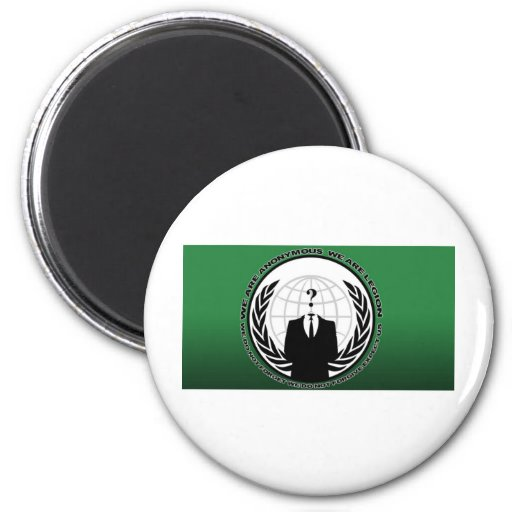 anonymous 2 inch round magnet