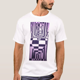 Anonymous abstract suit and mask T-Shirt