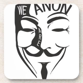 Anonymous Beverage Coaster