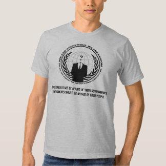 Anonymous Camisas