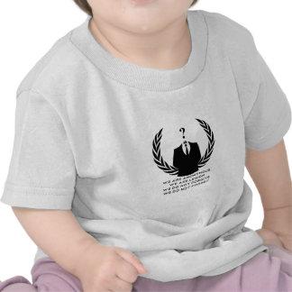 Anonymous Camiseta