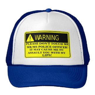 ANONYMOUS CAP/ HAT TRUCKER HAT