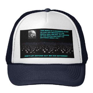 ANONYMOUS CAP/ HAT HATS
