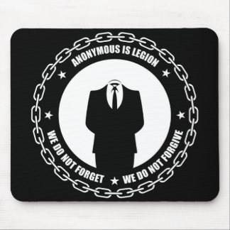 Anonymous Chain Mousepad