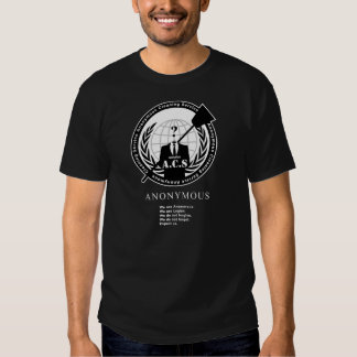Anonymous Cleaning Service - #opACS Black Tee Shirt