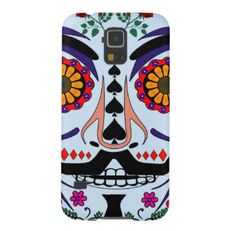 ANONYMOUS Day of the Dead 3 Art Anon Mask 4Chan Galaxy S5 Case