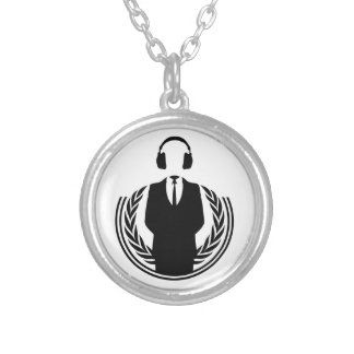 Anonymous DJ Custom Necklace