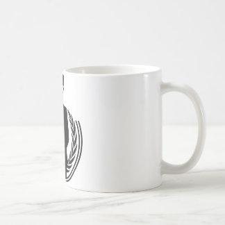 Anonymous DJ smiley Coffee Mug