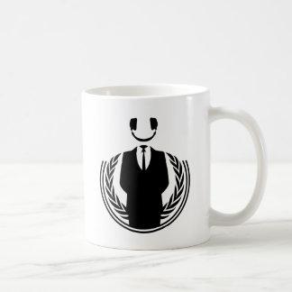 Anonymous DJ smiley Mug