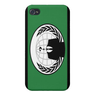 Anonymous Flag iPhone 4 Case