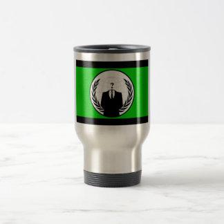 Anonymous flag mug
