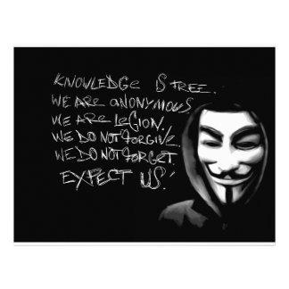Anonymous Flyer