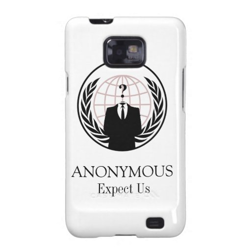 ANONYMOUS GALAXY S2 CASE