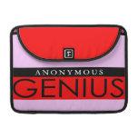 Anonymous Genius Sleeve For MacBook Pro