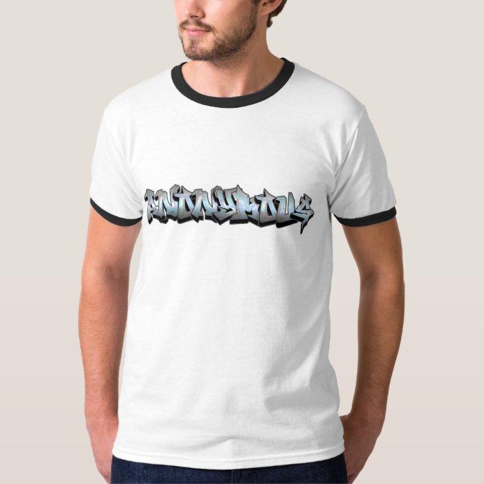 Anonymous Graffiti T-Shirt