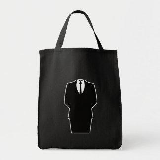 anonymous icon internet 4chan SA Grocery Tote Bag