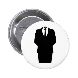 anonymous icon internet 4chan SA Pinback Button