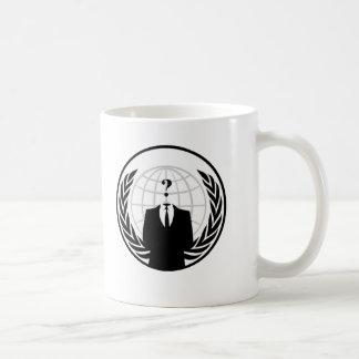 Anonymous International Logo Coffee Mug