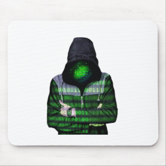Anonymous Internet Hacker Mouse Pad