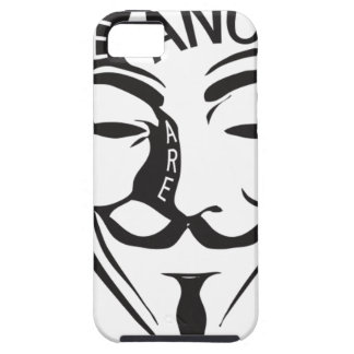Anonymous iPhone SE/5/5s Case