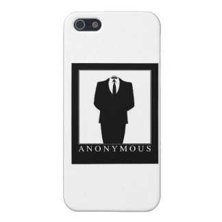 ANONYMOUS iPhone SE/5/5s COVER