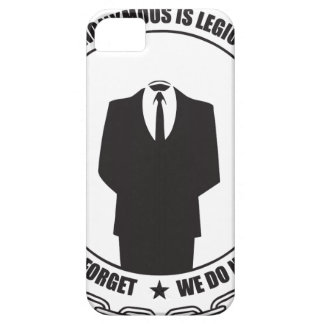 Anonymous is Legion iPhone 5 Covers