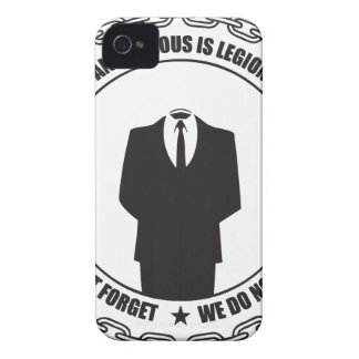 Anonymous is Legion Case-Mate iPhone 4 Case
