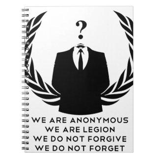 Anonymous Libretas