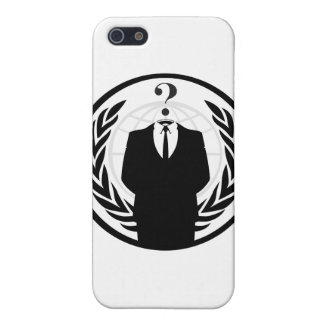 Anonymous Logo (Classic Style) iPhone SE/5/5s Cover
