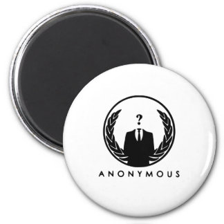 Anonymous Logo Magnet